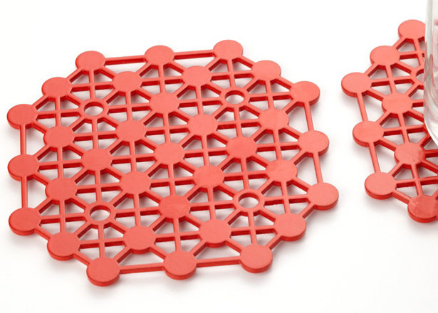 Molecular Coasters, DesignedMade, designed, made, and